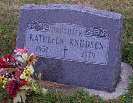 KNUDSEN, KATHLEEN - Shelby County, Iowa   KATHLEEN KNUDSEN