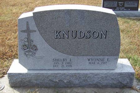 KNUDSON, WYONNE E. - Shelby County, Iowa | WYONNE E. KNUDSON