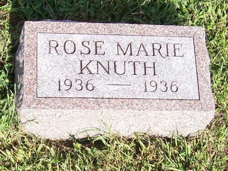 KNUTH, ROSE MARIE - Shelby County, Iowa | ROSE MARIE KNUTH
