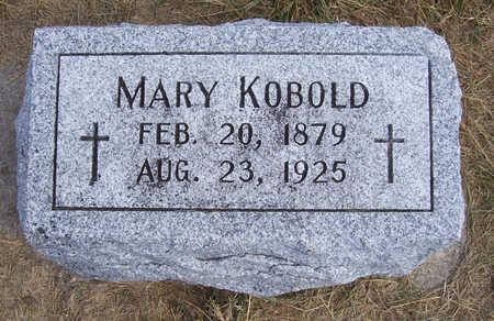KOBOLD, MARY - Shelby County, Iowa | MARY KOBOLD