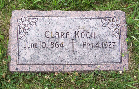 KOCH, CLARA - Shelby County, Iowa | CLARA KOCH