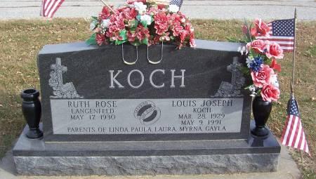 KOCH, RUTH ROSE - Shelby County, Iowa | RUTH ROSE KOCH