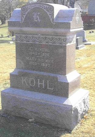 KOHL, EZRA & MARY - Shelby County, Iowa | EZRA & MARY KOHL