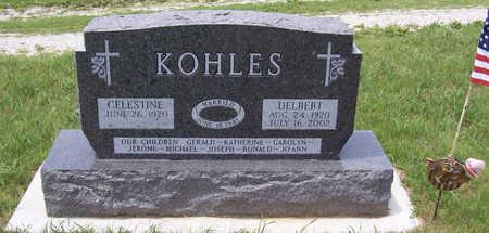 KOHLES, CELESTINE - Shelby County, Iowa | CELESTINE KOHLES