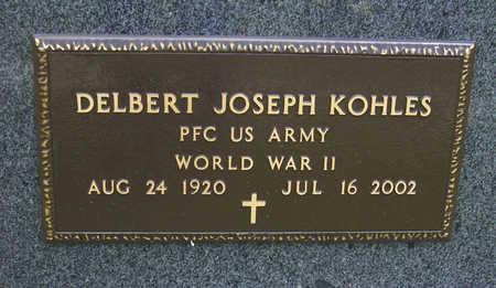 KOHLES, DELBERT JOSEPH (MILITARY) - Shelby County, Iowa | DELBERT JOSEPH (MILITARY) KOHLES