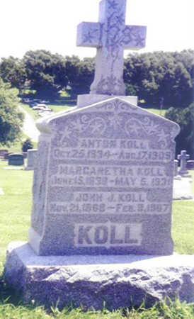 KOLL, ANTON - Shelby County, Iowa   ANTON KOLL