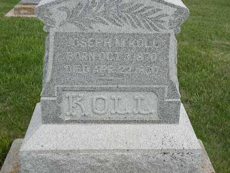 KOLL, JOSEPH M. - Shelby County, Iowa   JOSEPH M. KOLL