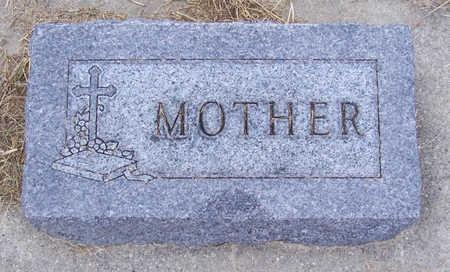 KOTSCHEWAR, (MOTHER) - Shelby County, Iowa | (MOTHER) KOTSCHEWAR