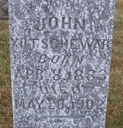 KOTSCHEWAR, JOHN (CLOSE UP) - Shelby County, Iowa | JOHN (CLOSE UP) KOTSCHEWAR