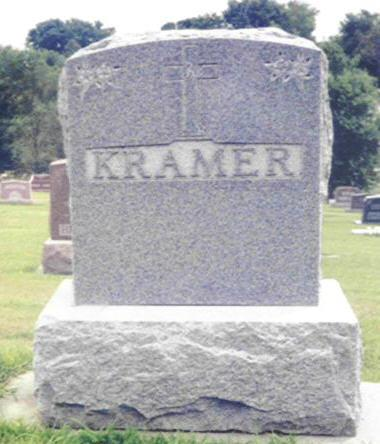 BOOK KRAMER, MARY - Shelby County, Iowa | MARY BOOK KRAMER