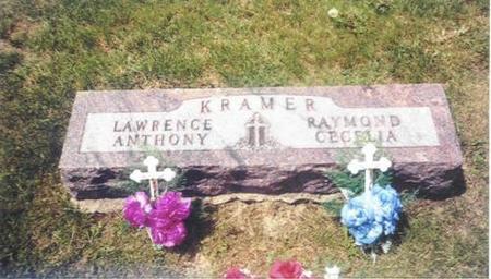 KRAMER, RAYMOND, LAWRENCE, CECELIA & ANTHONY - Shelby County, Iowa | RAYMOND, LAWRENCE, CECELIA & ANTHONY KRAMER