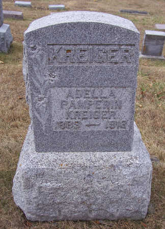 KREIGER, ADELLA - Shelby County, Iowa | ADELLA KREIGER
