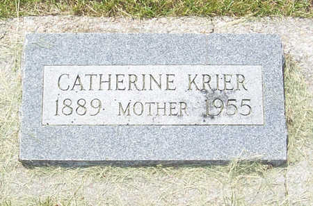 KRIER, CATHERINE - Shelby County, Iowa | CATHERINE KRIER
