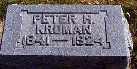 KROMAN, PETER  HANSEN - Shelby County, Iowa | PETER  HANSEN KROMAN