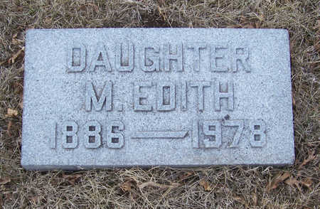 KRUCKENBERG, M. EDITH (DAUGHTER) - Shelby County, Iowa | M. EDITH (DAUGHTER) KRUCKENBERG