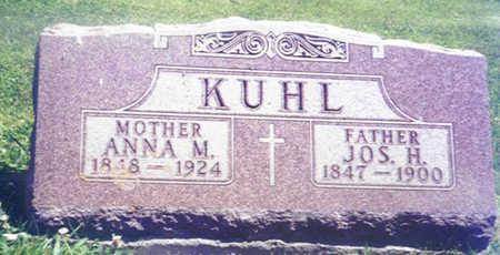 KUHL, ANNA MARIA - Shelby County, Iowa | ANNA MARIA KUHL