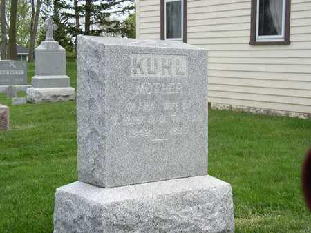 KRAMER-THIELEN KUHL, CLARA - Shelby County, Iowa   CLARA KRAMER-THIELEN KUHL