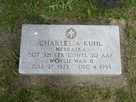 KUHL, CHARLES A. - Shelby County, Iowa   CHARLES A. KUHL