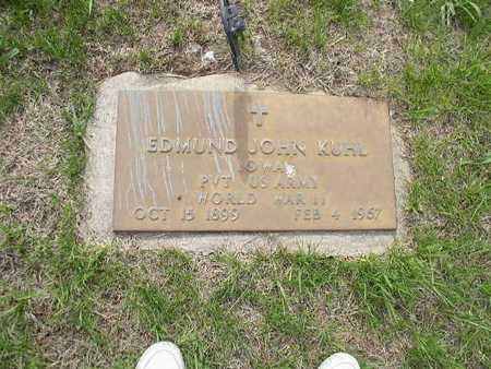KUHL, EDMUND JOHN - Shelby County, Iowa | EDMUND JOHN KUHL