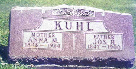 KUHL, JOSEPH HENRY - Shelby County, Iowa | JOSEPH HENRY KUHL