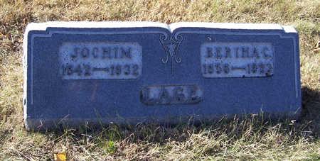 LAGE, JOCHIM - Shelby County, Iowa | JOCHIM LAGE