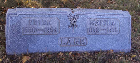 LAGE, PETER - Shelby County, Iowa | PETER LAGE
