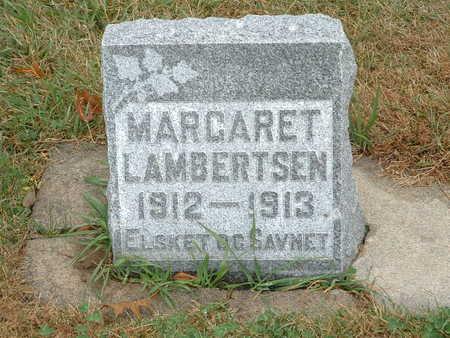 LAMBERTSEN, MARGARET - Shelby County, Iowa   MARGARET LAMBERTSEN