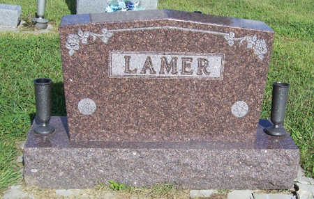 LAMER, FAMILY MONUMENT - Shelby County, Iowa | FAMILY MONUMENT LAMER