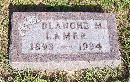 LAMER, BLANCHE M. - Shelby County, Iowa | BLANCHE M. LAMER