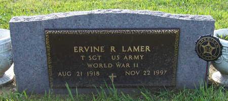 LAMER, ERVINE R. (MILITARY) - Shelby County, Iowa   ERVINE R. (MILITARY) LAMER