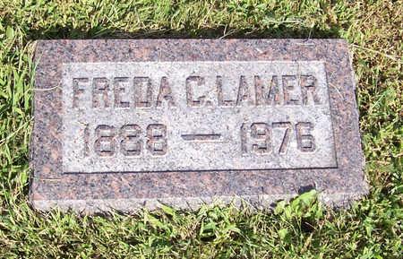 LAMER, FREDA C. - Shelby County, Iowa | FREDA C. LAMER