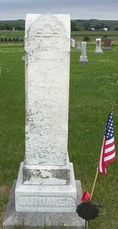 LANDAKER, LAWRENCE H. - Shelby County, Iowa   LAWRENCE H. LANDAKER