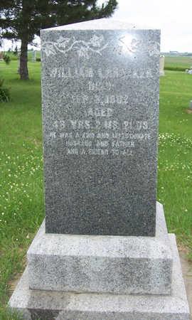 LANDAKER, WILLIAM - Shelby County, Iowa | WILLIAM LANDAKER