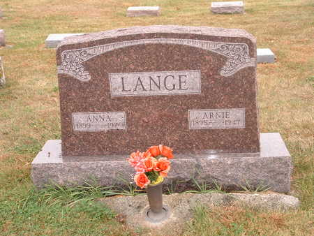 LANGE, ARNIE - Shelby County, Iowa | ARNIE LANGE
