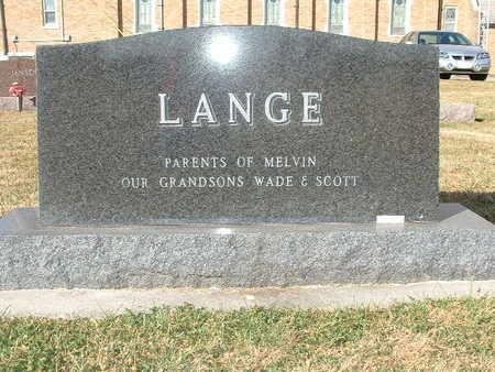 LANGE, HERBERT ARNOLD - Shelby County, Iowa | HERBERT ARNOLD LANGE