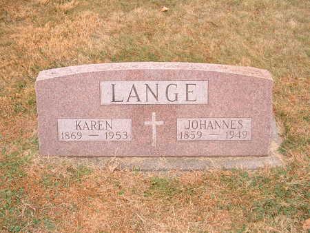LANGE, KAREN - Shelby County, Iowa | KAREN LANGE