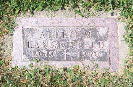 LANGENFELD, ALLEN M. - Shelby County, Iowa | ALLEN M. LANGENFELD