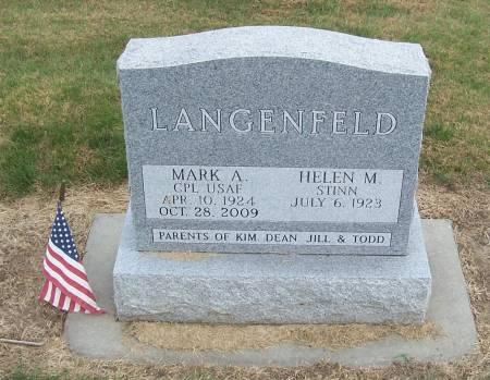 LANGENFELD, HELEN M. - Shelby County, Iowa | HELEN M. LANGENFELD
