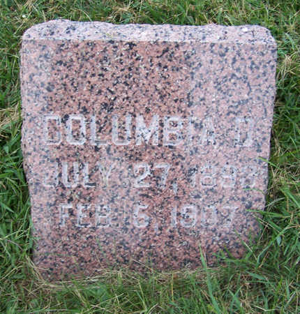 LANNING, COLUMBIA D. - Shelby County, Iowa | COLUMBIA D. LANNING
