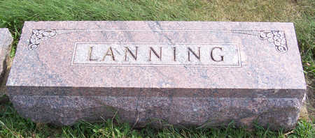 LANNING, CHARLES E. & NELLIE MAE (LOT) - Shelby County, Iowa | CHARLES E. & NELLIE MAE (LOT) LANNING