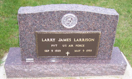 LARRISON, LARRY JAMES (MILITARY) - Shelby County, Iowa | LARRY JAMES (MILITARY) LARRISON