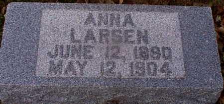 LARSEN, ANNA - Shelby County, Iowa | ANNA LARSEN