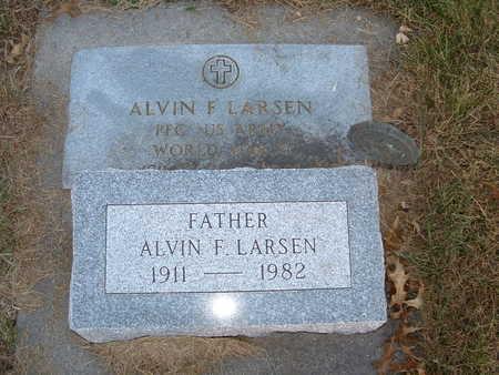 LARSEN, ALVIN F - Shelby County, Iowa | ALVIN F LARSEN