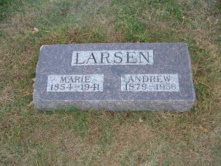 LARSEN, MARIE - Shelby County, Iowa | MARIE LARSEN