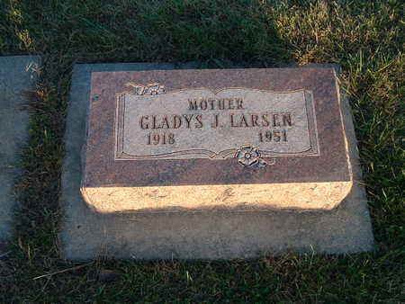 LARSEN, GLADYS J - Shelby County, Iowa   GLADYS J LARSEN