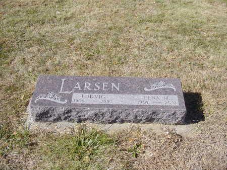 LARSEN, ELNA - Shelby County, Iowa | ELNA LARSEN