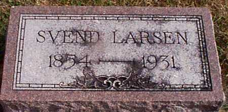 LARSEN, SVEND - Shelby County, Iowa | SVEND LARSEN