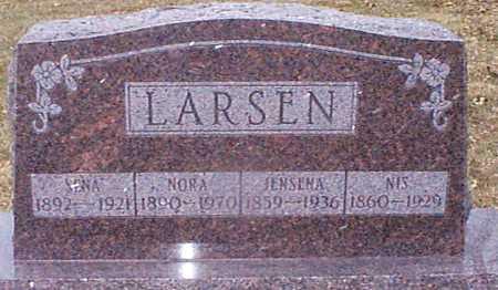 LARSEN, NIS - Shelby County, Iowa | NIS LARSEN
