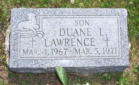 LAWRENCE, DUANE L. - Shelby County, Iowa   DUANE L. LAWRENCE