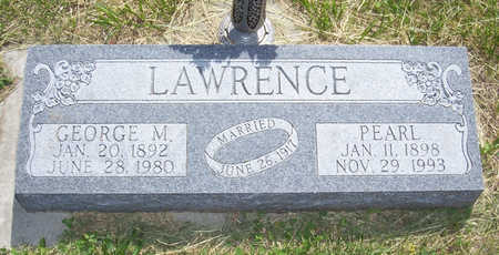 LAWRENCE, GEORGE M. - Shelby County, Iowa | GEORGE M. LAWRENCE